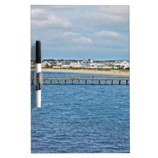 """""""Lewes-Hafen von der Fähre"""" Sammlung Trockenlöschtafel"""