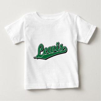 Lewis im Grün Baby T-shirt