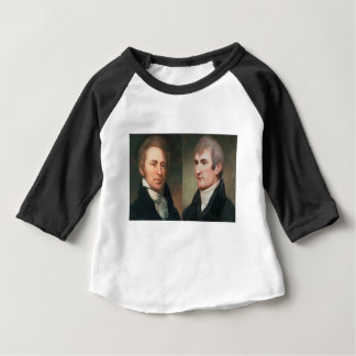 Lewis und Clark Baby T-shirt