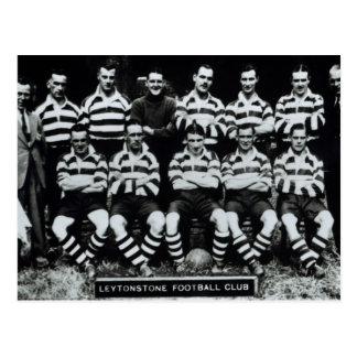 Leytonstone Fußball-Verein, c.1935 Postkarte