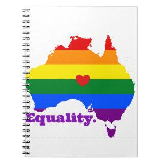 LGBT AUSTRALIEN NOTIZBLOCK