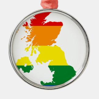 LGBT_flag_map_of_the_United_Kingdom.svg Silbernes Ornament