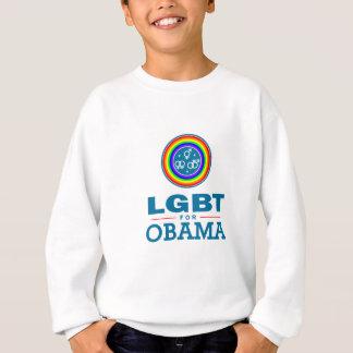 LGBT für OBAMA Sweatshirt