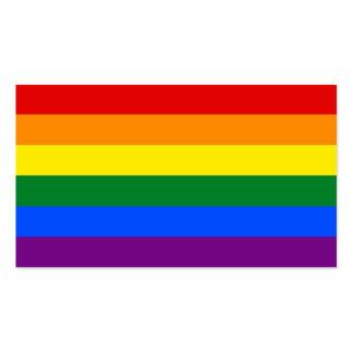 LGBT Gay Pride-Regenbogen-Flaggen-Streifen Visitenkarten