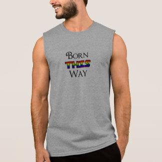 LGBT geboren auf diese Weise Ärmelloses Shirt