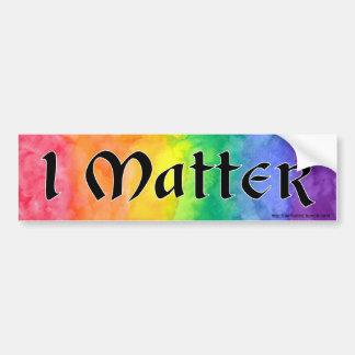 LGBT Leute-Angelegenheits-Autoaufkleber Autoaufkleber