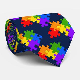 LGBT Puzzlespiel Krawatten