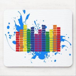 LGBT Regenbogen-Entzerrer Mousepad