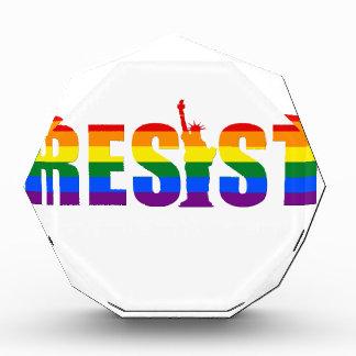 LGBT Regenbogen-Flagge widerstehen Gay Auszeichnung