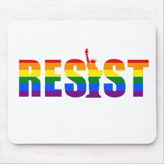 LGBT Regenbogen-Flagge widerstehen Gay Mousepad