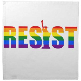 LGBT Regenbogen-Flagge widerstehen Gay Stoffserviette