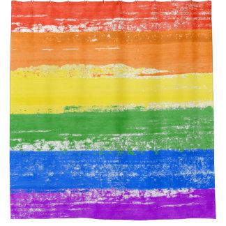 LGBT REGENBOGEN-FLAGGEN-FARBE DUSCHVORHANG