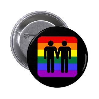 LGBT RUNDER BUTTON 5,1 CM
