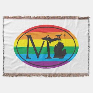 LGBT Staatsstolz-Euro: MI Michigan Decke