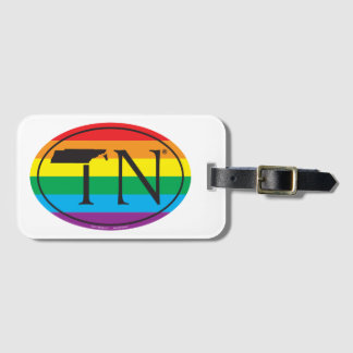 LGBT Staatsstolz-Euro: TN Tennesse Kofferanhänger