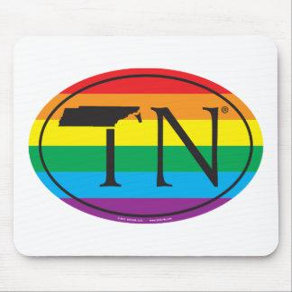 LGBT Staatsstolz-Euro: TN Tennesse Mauspad