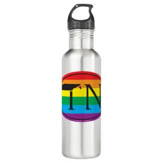 LGBT Staatsstolz-Euro: TN Tennesse Trinkflasche