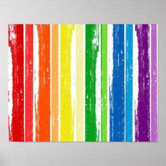 LGBT STOLZ-TINTEN-BAR - .PNG POSTERDRUCKE