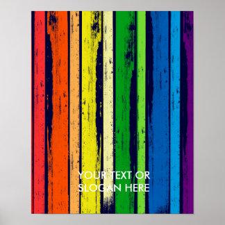 LGBT STOLZ-TINTEN-BAR - .PNG PLAKAT