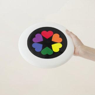 LGBT Stolzherzen Wham-O Frisbee