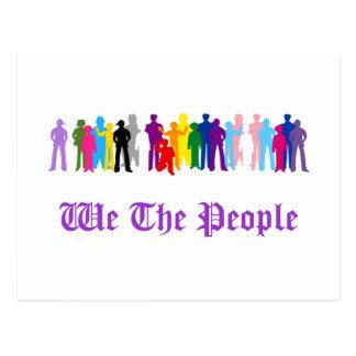 LGBT wir die Leuteentwurf Postkarte