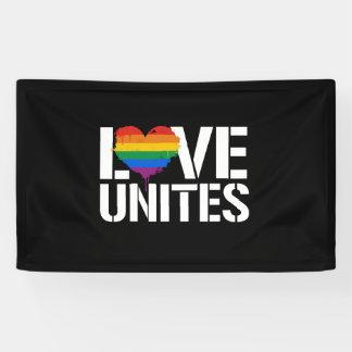 LGBTQ LIEBE VEREINIGT - - LGBTQ berichtigt - - Banner