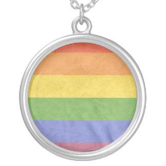 LGBTQI HALSKETTE MIT RUNDEM ANHÄNGER