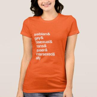 LGBTQI LISTE T-Shirts