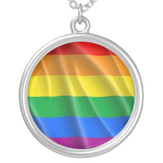 LGBTQI STOLZ HALSKETTE MIT RUNDEM ANHÄNGER