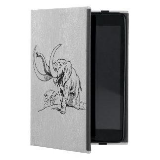 LGray Imitat-Leder u. schwarze Etui Fürs iPad Mini