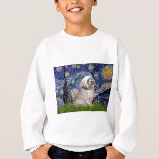 Lhasa Apso 10 - sternenklare Nacht Sweatshirt