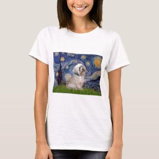 Lhasa Apso 10 - sternenklare Nacht T-Shirt