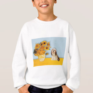 Lhasa Apso 4 - Sonnenblumen Sweatshirt
