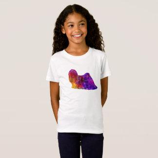 Lhasa Apso in Watercolor 2 T-Shirt