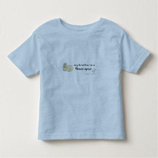 Lhasa apso kleinkind t-shirt