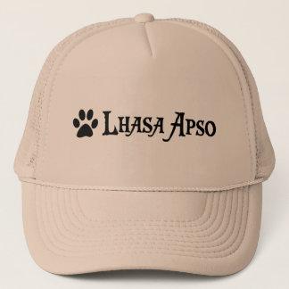 Lhasa Apso (Piratenart mit pawprint) Truckerkappe