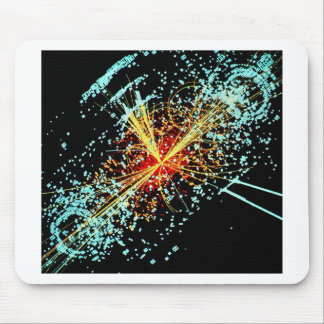 LHC Zusammenstoß Mousepads