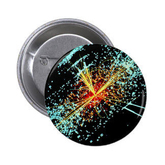 LHC Zusammenstoß Runder Button 5,1 Cm