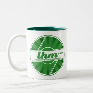 LHM Hydraulikflüssigkeits-Logo-Tasse (Citroen Zweifarbige Tasse