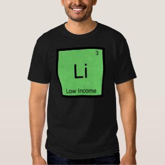 Li - niedriges Einkommens-lustiges T Shirts