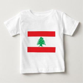 Libanesische Flagge - Flagge von der Libanon Baby T-shirt