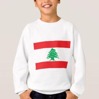Libanesische Flagge - Flagge von der Libanon Sweatshirt