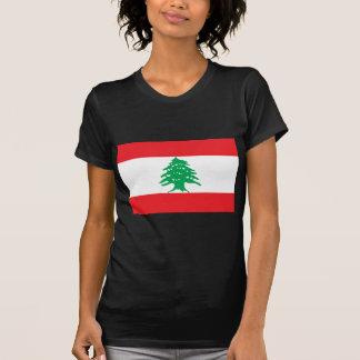 Libanesische Flagge - Flagge von der Libanon T-Shirt