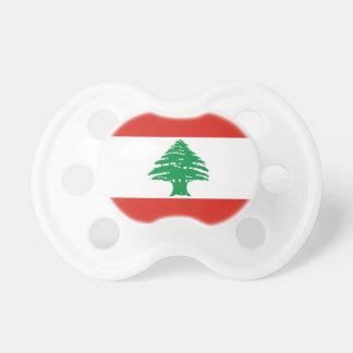 Libanesische Flagge Schnuller