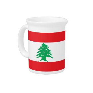 Libanesischer Flaggen-Krug Krug