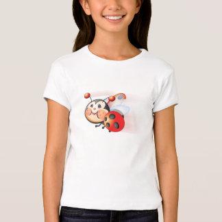 Libby das Marienkäfer-Mädchen-Shirt T-Shirt