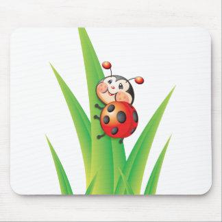 Libby der Marienkäfer Mousepad