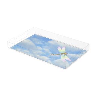 Libelle Acryl Tablett