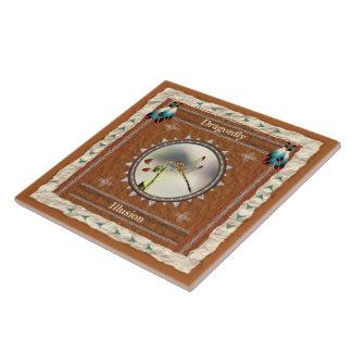Libelle - Illusions-Keramik-Fliese Fliese