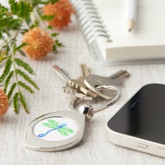 Libelle keychain schlüsselanhänger